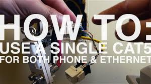 how to wire an ethernet and phone jack using a single cate cable how to wire an ethernet and phone jack using a single cat5e cable mavromatic