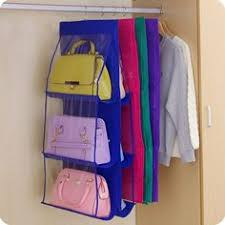 16 Pocket Clear <b>Bags</b> Hanging Organizer for Small <b>Household Items</b> ...