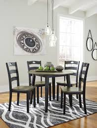 dining room furniture chairs. Ashley D338 Froshburg Round Table Chairs Dining Room Furniture C
