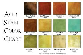 Concrete Stain Colors Nice Ideas House Interior