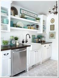 open kitchen cabinets flea market goes for the shelf concept and comes out with cabinet ideas plan design images