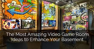 the most amazing video game room ideas