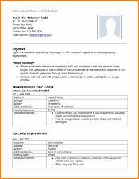 Resume Sample For Fresh Graduate Resume Sample Fresh Graduate Malaysia Danayaus 17