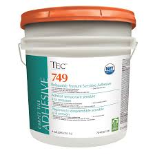 carpet adhesive. tec 4-gallon trowel carpet adhesive .