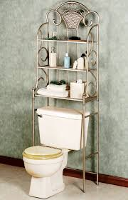 modern bathroom storage. Bathroom:Shabby Chic Chrome Iron Three Level Toilet Bathroom Storage Multifunctional Over The Modern A