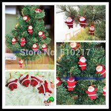 Us 15045 5 Offchristbaumschmuck Rot Weihnachtsmann Anhänger Vater Weihnachten Hängende Ornamente Weihnachten Kriss Kringle Dekorative Anhänger In