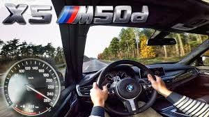 BMW X5 M50d F15 AutoBahn Test Drive Acceleration & Top Speed - YouTube