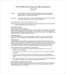 board of directors minutes of meeting template board of director resume board of directors meeting minutes sample