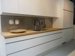 Cuisine Ikea Arsta Blanche Et Bois Sans Poignées Idées Pour La