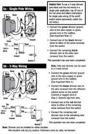 single pole dimmer switch wiring diagram single three way switch doesn t work right the home depot community on single pole dimmer switch wiring diagrams