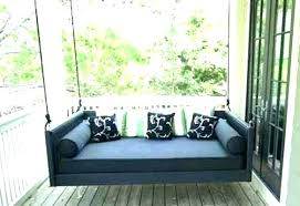 diy twin bed porch swing here