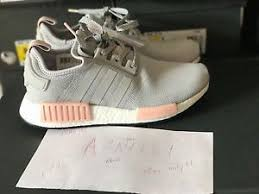 adidas shoes nmd grey and pink. image is loading adidas-nmd-r1-runner-grey-vapour-pink-light- adidas shoes nmd grey and pink a