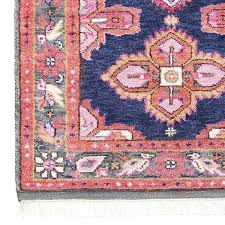 area navy blue rug c pink and jovany hand hooked a stunning antique inspired rug created in all our favorite hues it is as luxurious underfoot