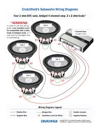 subwoofer wiring diagrams cool pioneer car stereo diagram