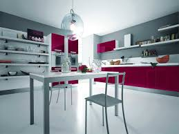 Pink Kitchen Elegant Modern Pink Kitchen Design Silver Modern Kitchen With