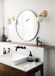 metal framed mirror round oak framed mirrors bathroom