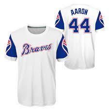 Youth Hank Aaron Atlanta Braves ...