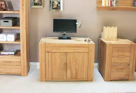 oak hidden home office. atlas oak hidden home office desk e