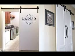 laundry room barn door ideas