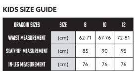 Draggin Jeans Size Chart Draggin Jeans Kids Jeans Black