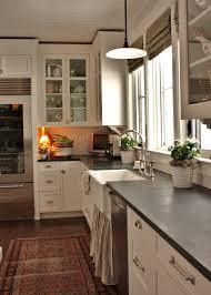 Dove White Kitchen Cabinets White Dove Cabinets With Soapstone Counters Kitchens