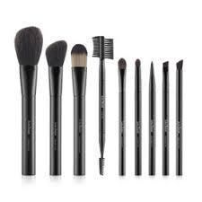 luresenses 9 pc premium makeup brush essential set