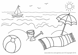 Small Picture Preschool Summer Safety Coloring Pages Custom 3517