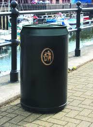 drinks can litter bin outdoor bin add your company logo personalised