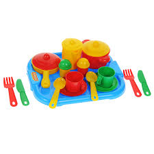 """<b>Набор</b> детской <b>посуды Полесье</b> """"<b>Настенька</b>"""", 19 предметов, цвет ..."""