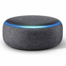 Loa thông minh Smart speaker with Alexa Charcoal – Tila's House