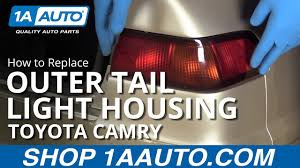 97 Toyota Camry Brake Light How To Replace Outer Tail Light 97 99 Toyota Camry
