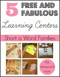 Activities Word 5 Free Word Family Activities For Short A The Measured Mom