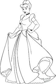 Cinderella Coloring Pages Pdf Ggluinfo