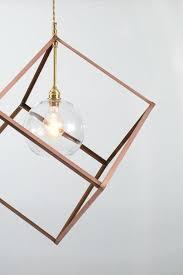 cube pendant light black cube pendant light