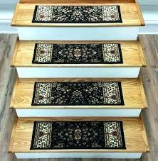 carpet protector mats for stairs temporary stair tread protection mats carpet treads pads black outdoor regarding
