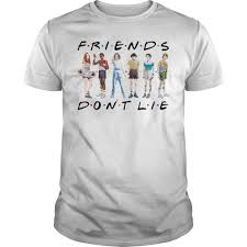 Eleven Mike Will Dustin Lucas And Max Friends Dont Lie Shirt, hoodie, tank  top and sweater