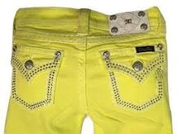 Miss Me Size 12 Girls Kids Lemon Skinny Jeans Jk5847s Nwt