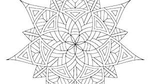 Coloring Pages Geometric Coloring Pages Printable For Adults Only