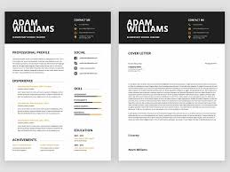 Ms Word Resume Templates By Resume Templates Dribbble Dribbble