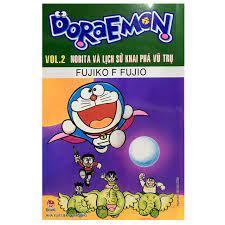 Doraemon truyện dài - tập 2: nobita và lịch sử khai phá vũ trụ giá tốt nhất  10/2021 - BeeCost