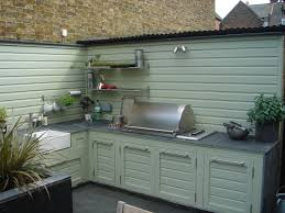 Work surface for outdoor kitchen