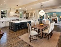 Kitchen And Dining Room Interesting Design Ideas