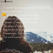 Best Remmber Quotes Status Shayari Poetry Thoughts Yourquote