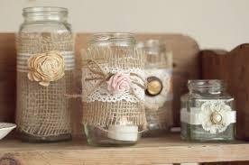 Decorate Jam Jars Decorated Jam Jars Wedding Ideas 19