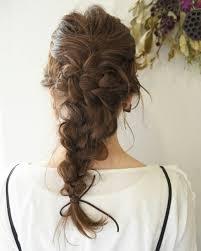 結婚式にしていきたい髪型no1簡単編み込みヘアアレンジhair