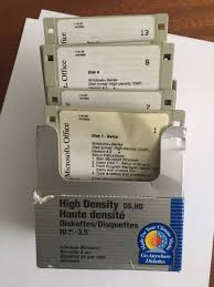 floppy office. microsoft office ver 42 on144mb floppy disks 20 disk set