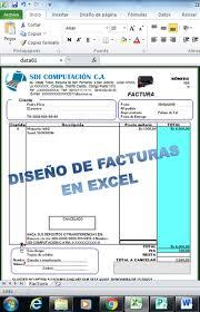 formato para facturas en excel diseño de plantillas para facturas en excel bs 5 000 00 en