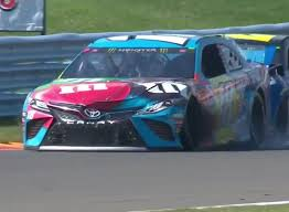 Kyle Busch had back and forth contact with William Byron at Watkins Glen  2019