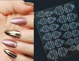 clear false nail removable jelly glue