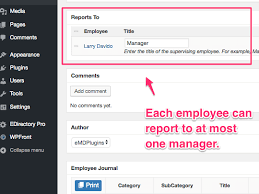How To Create Organization Charts In Employee Directory Pro
